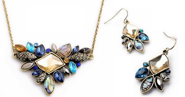 SPECIAL OFFER Selina Necklace + FREE Earrings - SoulForHer