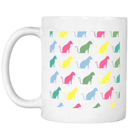 Clowder Cats Coffee Mug - SoulForHer