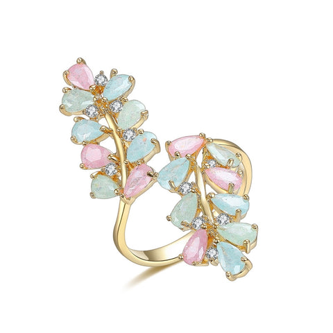 Candy Flower Ring Gold - SoulForHer