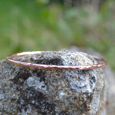 3mm Copper Bangle