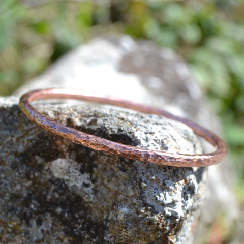 4mm Copper Bangle