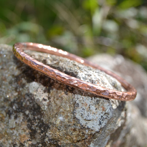 5mm Copper Bangle