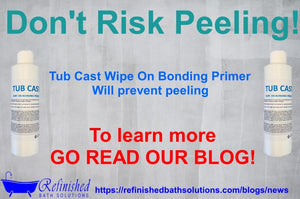 Tub Cast Wipe On Bonding Primer