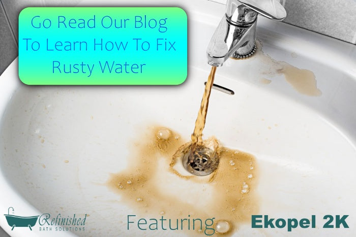 How to Fix Rusty Water