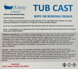 Tub Cast Wipe On Bathtub Refinishing Bonding Primer - Don't Risk Peeling
