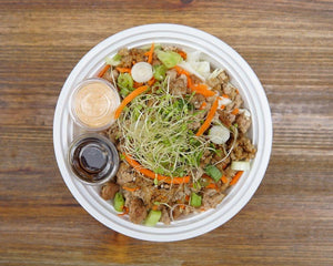 Plant Based Egg Roll in a Bowl