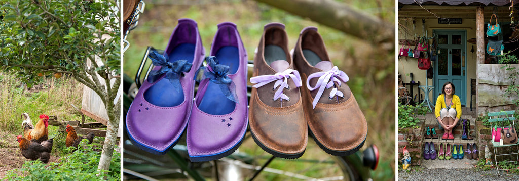faerysteps handmade shoes, boots & leather goods