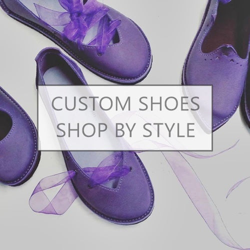 Shop for handmade custom shoes by style