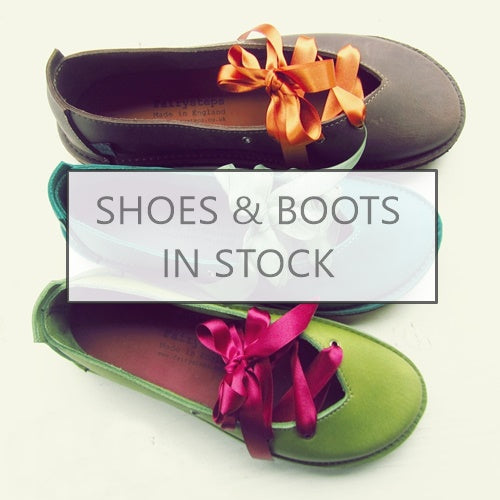 Shop handmade shoes and boots in stock now