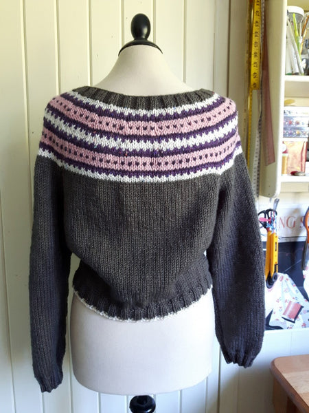CONNIE Yoked Cardigan #3368