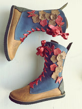 UK 4 TINKER Flutterby Garden Boot #3601