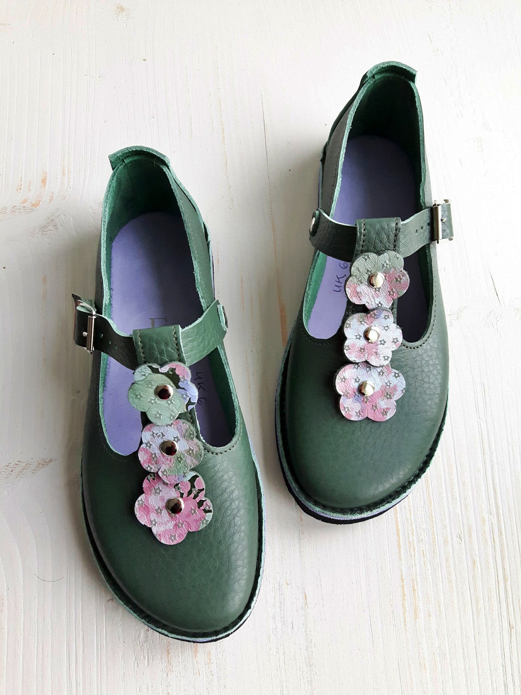 UK 6, PETALSTRAP Shoe #4035
