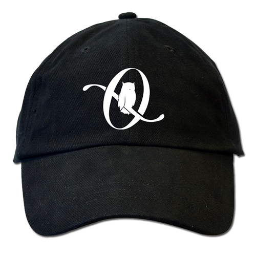 Icarus The Owl Logo Black Dad Hat