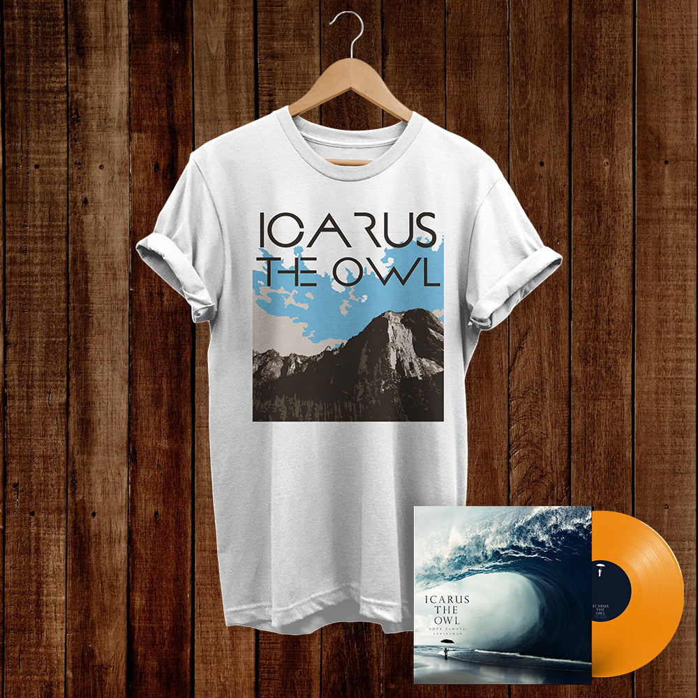 LAL Vinyl (Orange) + Mountain Shirt Bundle