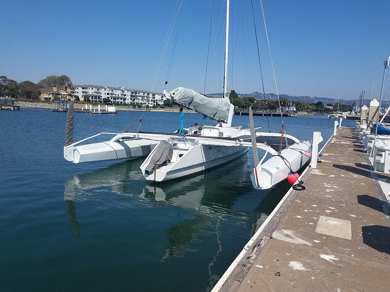 Trimaran Team Pure & Wild chooses Pelagic for a 800 mile North Pacific Coast Delivery