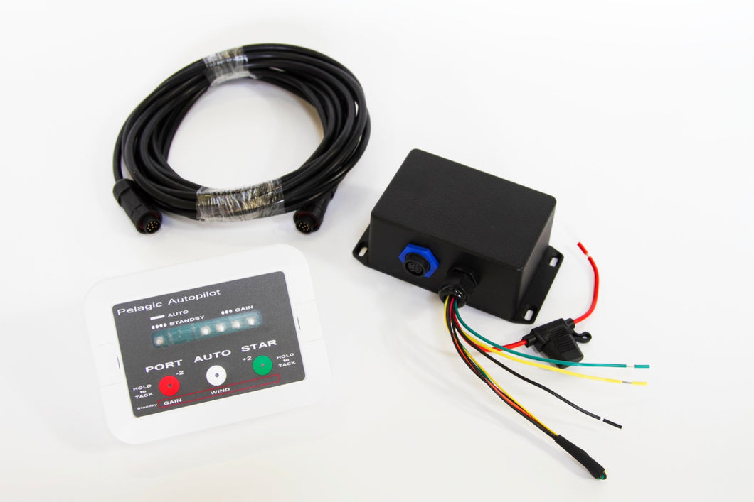 Autopilot for Windvane Compass Steering   (lead time is currently 5 weeks)