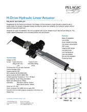Hydraulic Linear Actuator