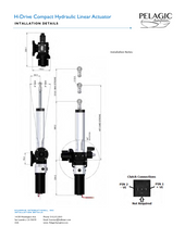 Compact Hydraulic Linear Actuator