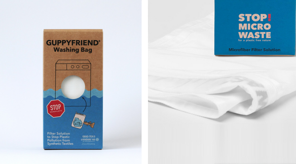 Guppyfriend washing bag: micro-plastic catching laundry bag to help reduce the amount of microplastics in rivers and oceans!