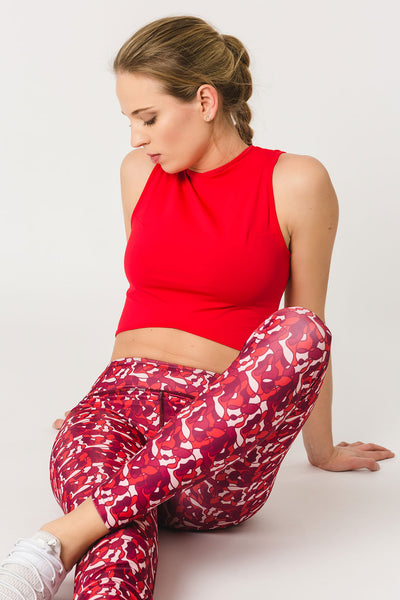 Gugu Red - crop top