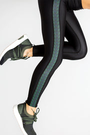 Ula Tulum - legging with printed stripe