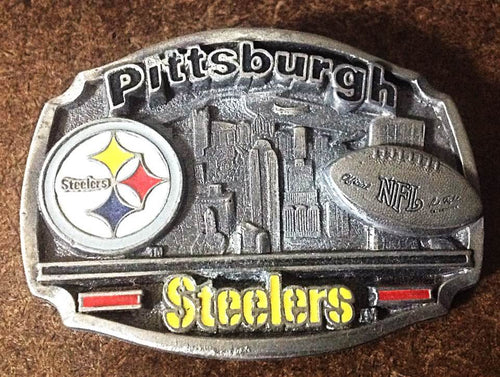 NFL Pittsburgh Steelers 2 Toned Buckle