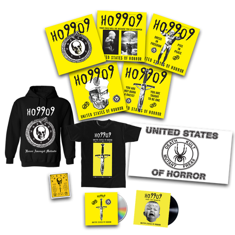 Deathkult CD Kit: CD + 5 Poster set + patch + shirt + flag+ hoodie + signed 7