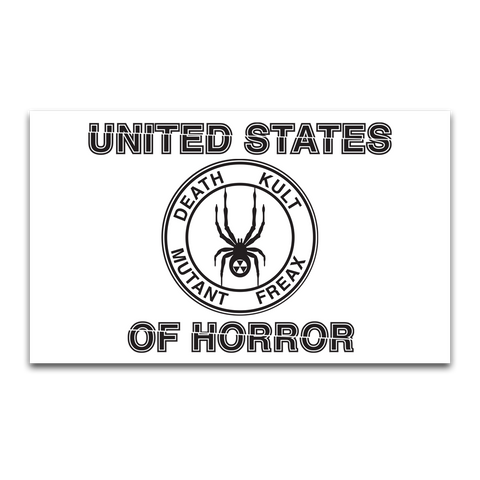 UNITED STATES OF HORROR FLAG