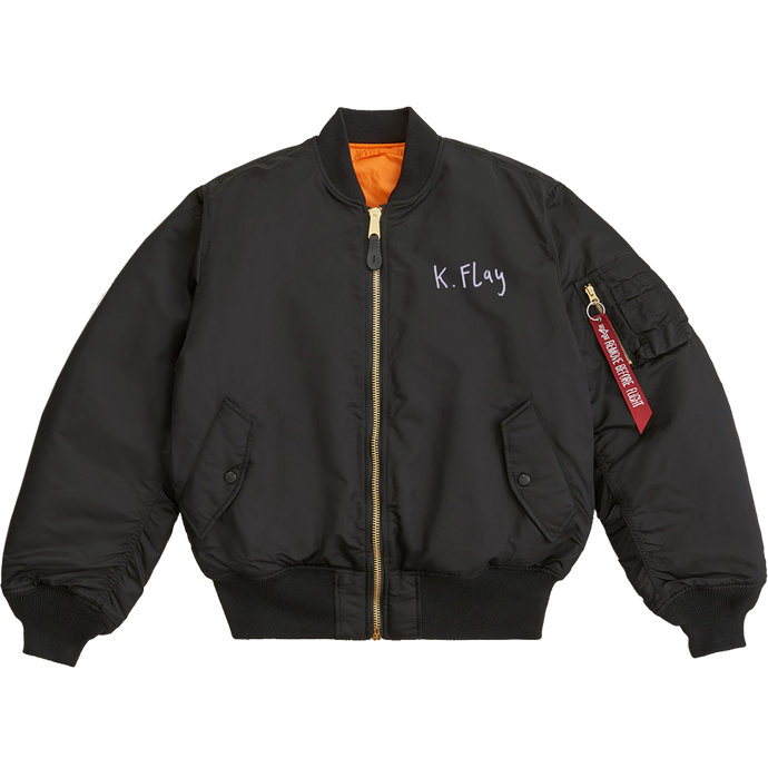 ALPHA INDUSTRIES X K.FLAY BOMBER JACKET + ALBUM PRE-ORDER