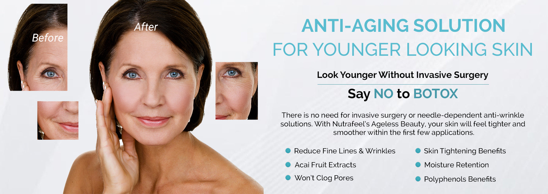 NutraFeel Anti-Aging, Skincare and Beauty Products
