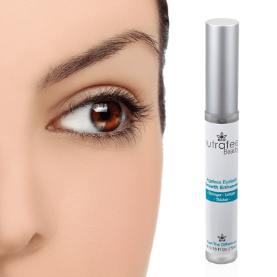 Ageless Eyelash Growth Conditioner Enhancer  | Promotes STRONGER LONGER THICKER Lashes - NutraFeel