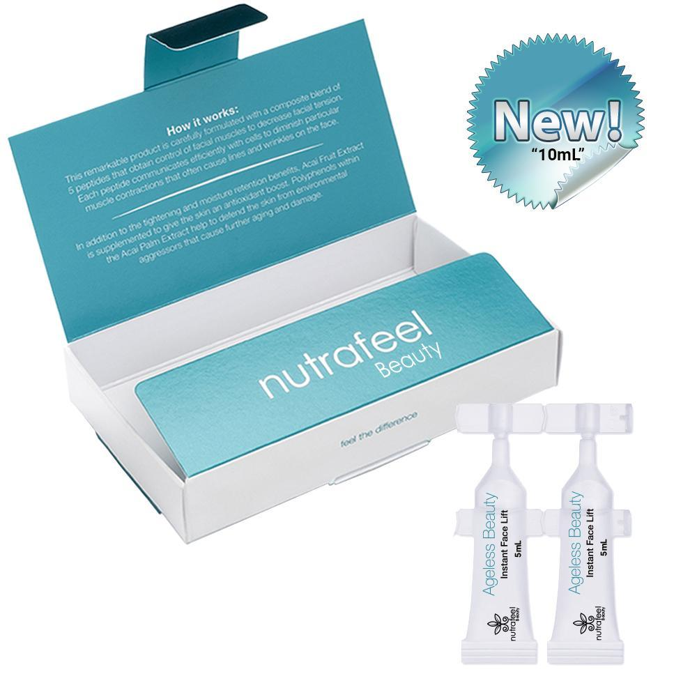 Ageless Beauty Instant Face Lift (10mL - 2 Vials) | Your Botox Alternative! - NutraFeel