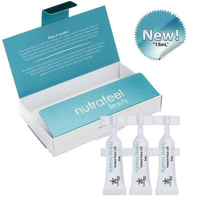 Ageless Beauty Instant Face Lift (15mL - 3 Vials) | Your Botox Alternative! - NutraFeel