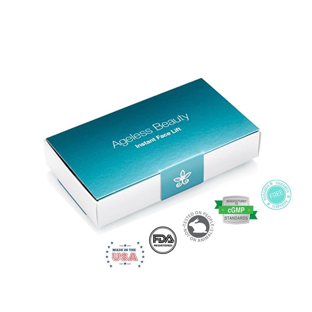 Ageless Beauty Instant Face Lift (25mL - 5 Vials) | Your Botox Alternative! - NutraFeel