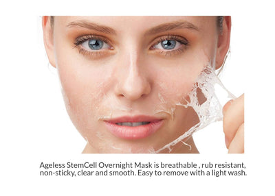 Nutrafeel Mask Ageless StemCell Overnight Mask | Anti-Aging Mask to Restores Skin Youth & Elasticity!
