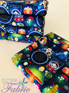 Best Seller Fabric ELECTRIC PARADE (custom fabric)