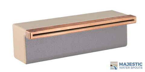 "Tomaso <br> 12"" Classic Vanity Cover - Copper"