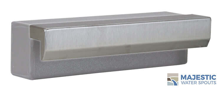 "Tomaso <br> 12"" Waterwall Vanity Cover - Stainless Steel"