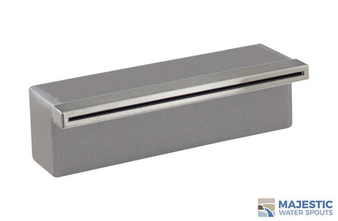"Tomaso <br> 12"" Classic Vanity Cover - Stainless Steel"