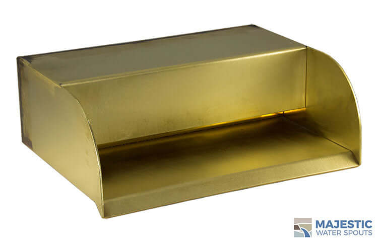 "Picard <br> 12"" Cascading Scupper - Brass"