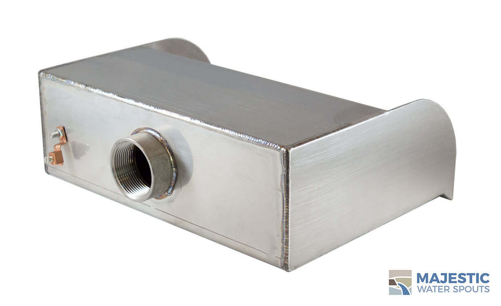 "Picard<br>12"" Cascading Scupper - Stainless Steel"
