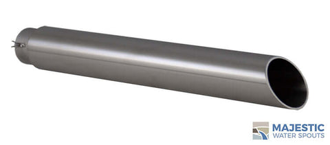 "Keegan <br> 1.5"" Water Fountain Spout - Stainless Steel"