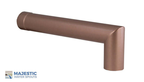 "Villeneuve <br> 1.5"" Water Fountain Spout - Copper Style"