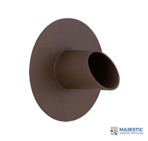 "Waverly <br> 1.5"" Water Spout Mask - Textured Rust"