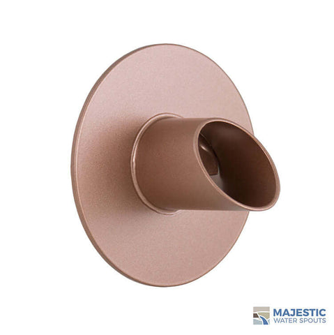 "Waverly <br> 1.5"" Water Spout Mask - Copper Style"