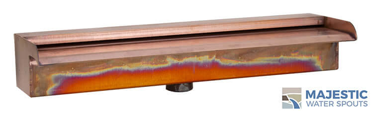 "Nakano <br> 18"" Waterfall Spillway - Copper"