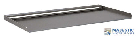 "Tomaso <br> 18"" Open Top Vanity Cover - Stainless Steel"
