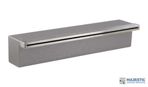 "Tomaso <br> 18"" Classic Vanity Cover - Stainless Steel"