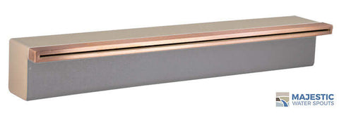 "Tomaso <br> 24"" Classic Vanity Cover - Copper"