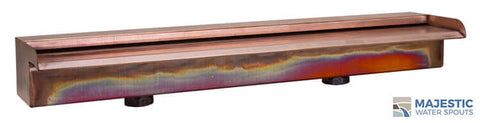 "Nakano <br> 24"" Waterfall Spillway - Copper"